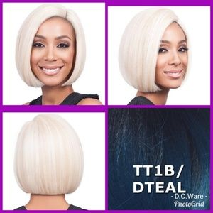 Bobbi Boss Synthetic Lacefront Bob Wig